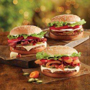 Les fameux sandwiches signés Burger King
