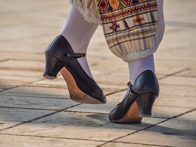 chaussures de danse à talon