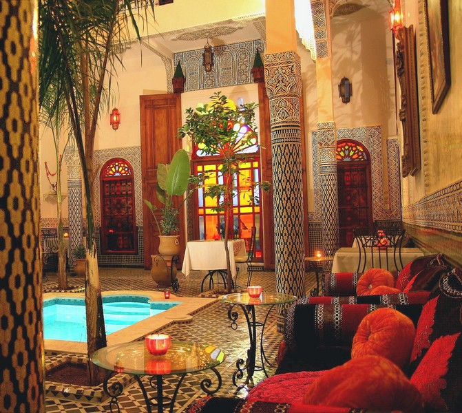 Riad au Maroc