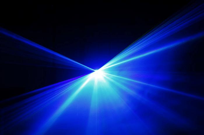 La lumière bleue