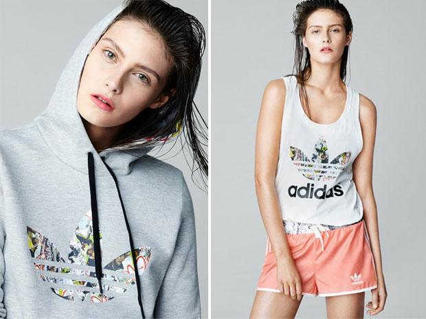 Adidas Originals crée une mini collection avec Topshop