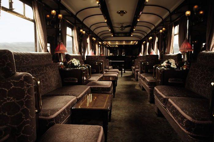train de luxe pour les Balkans